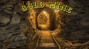 escape room gold mine