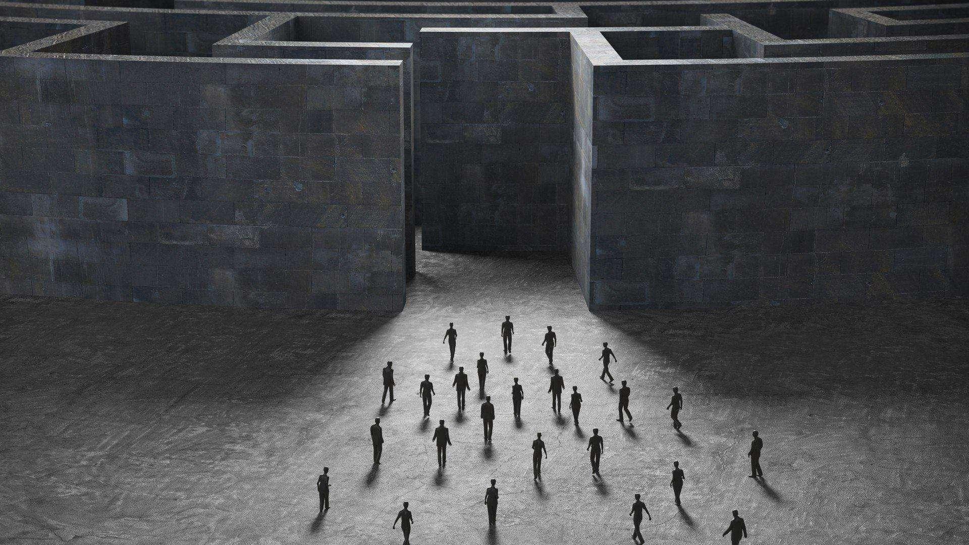 room maze